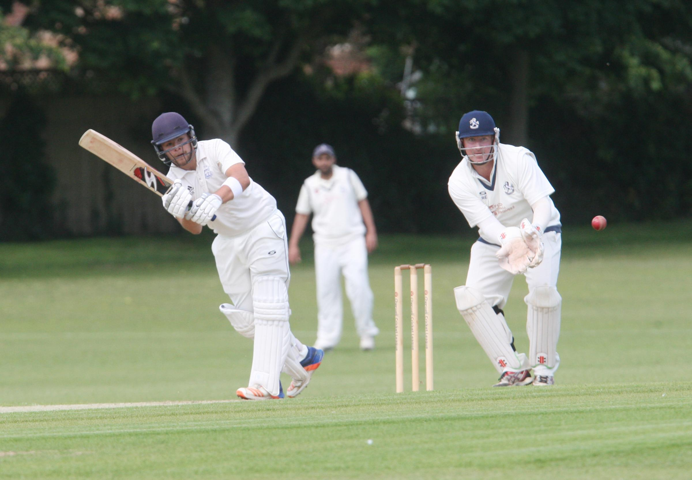 QUICKFIRE: Owyn Tong-Jones scored a rapid half-century in Oxon's successful run chase