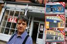 The Oxford Gallery (art and gift shop) is set to close after five years, blaming high rents and business rates. Owner David Marcus is pictured outside the shop. Also pictured is Aspire Style which has just closed after 14-years.12.9.2018Picture by Ed N