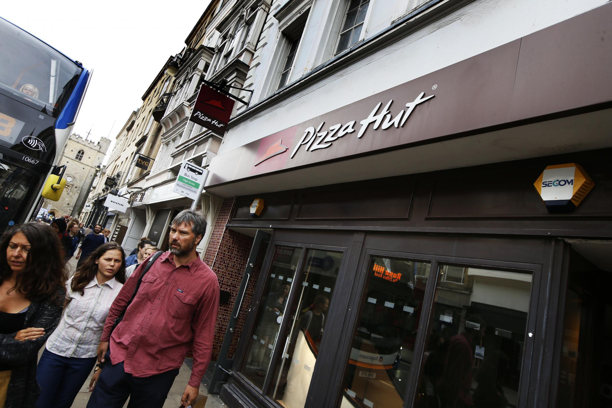 Pizza Hut Closes Oxford Branch A Year After Row Over Signage