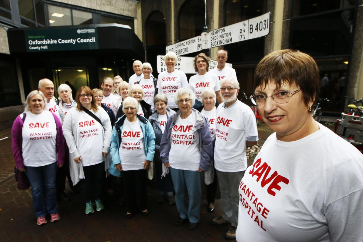 bff6ee5bcc48 Health chiefs given ultimatum over Wantage hospital