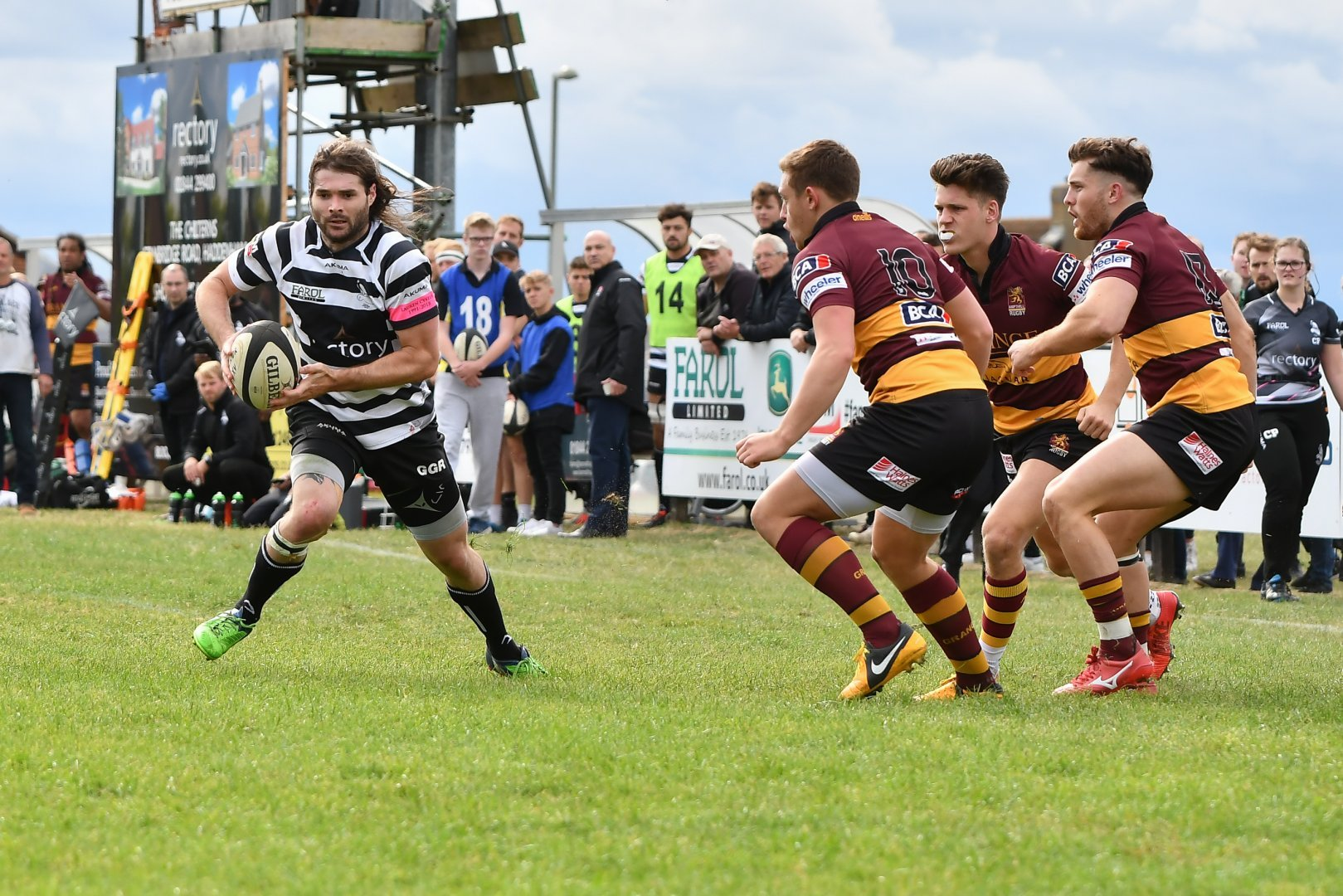 KNOCK: Kieran Goss is set to start at full back for Chinnor against Caldy in National League 1, but faces a late fitness test Picture: Simon Cooper