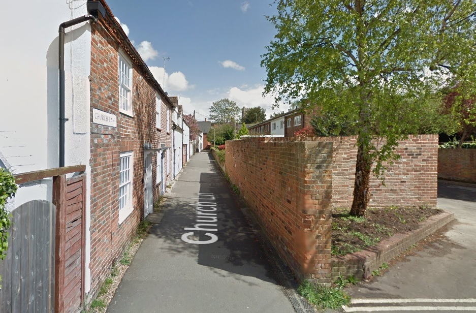 Church Lane, Wallingford. Picture: Google Maps