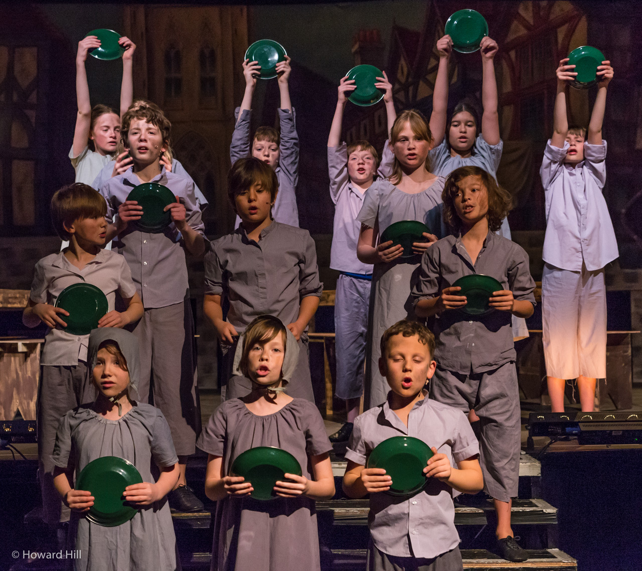 The recent Oliver production. Picture: Howard Hill