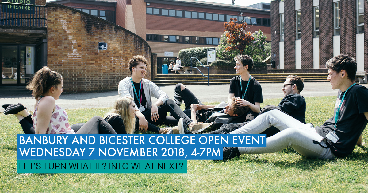 Banbury and Bicester College Open Event