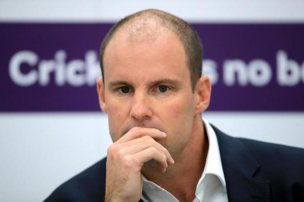 Andrew Strauss File Photo