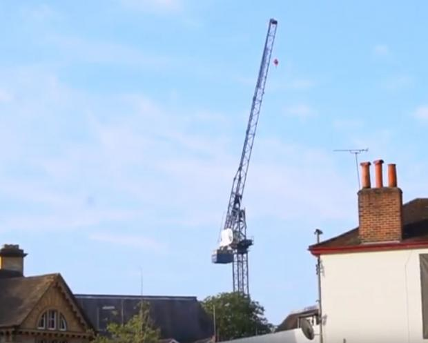 765b140328 Oxford crane climber warns others: 'Don't try it' | Oxford Mail