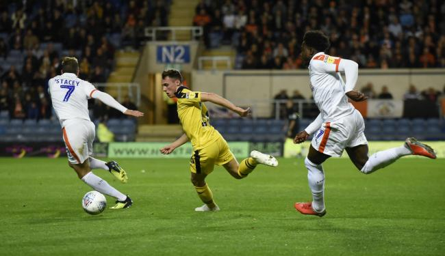 Action from Oxford United's match against Luton last week Picture: David Fleming