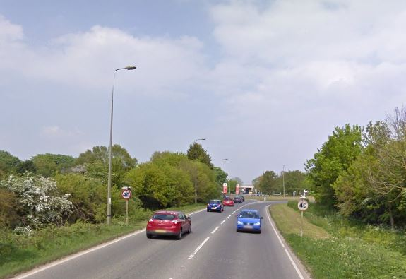 The A415 near Witney. Pic: Google Maps