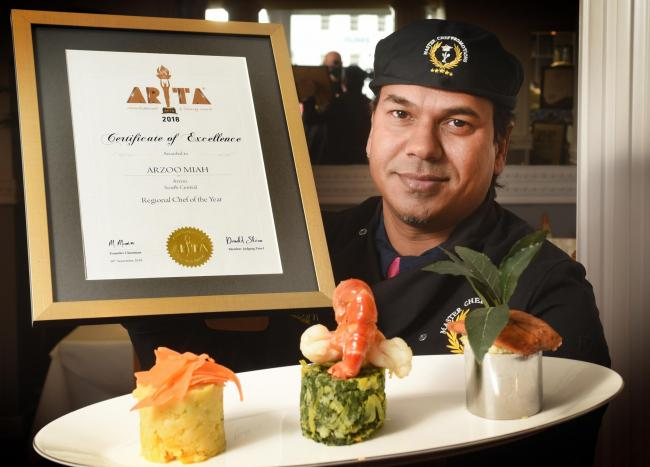 Curry king chef handed spice crown - again