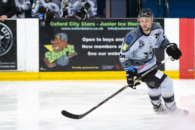 ON TARGET: Tom Davis was one of four Oxford City Stars players to score in the second period at Alexandra Palace  Picture: Paul Foster