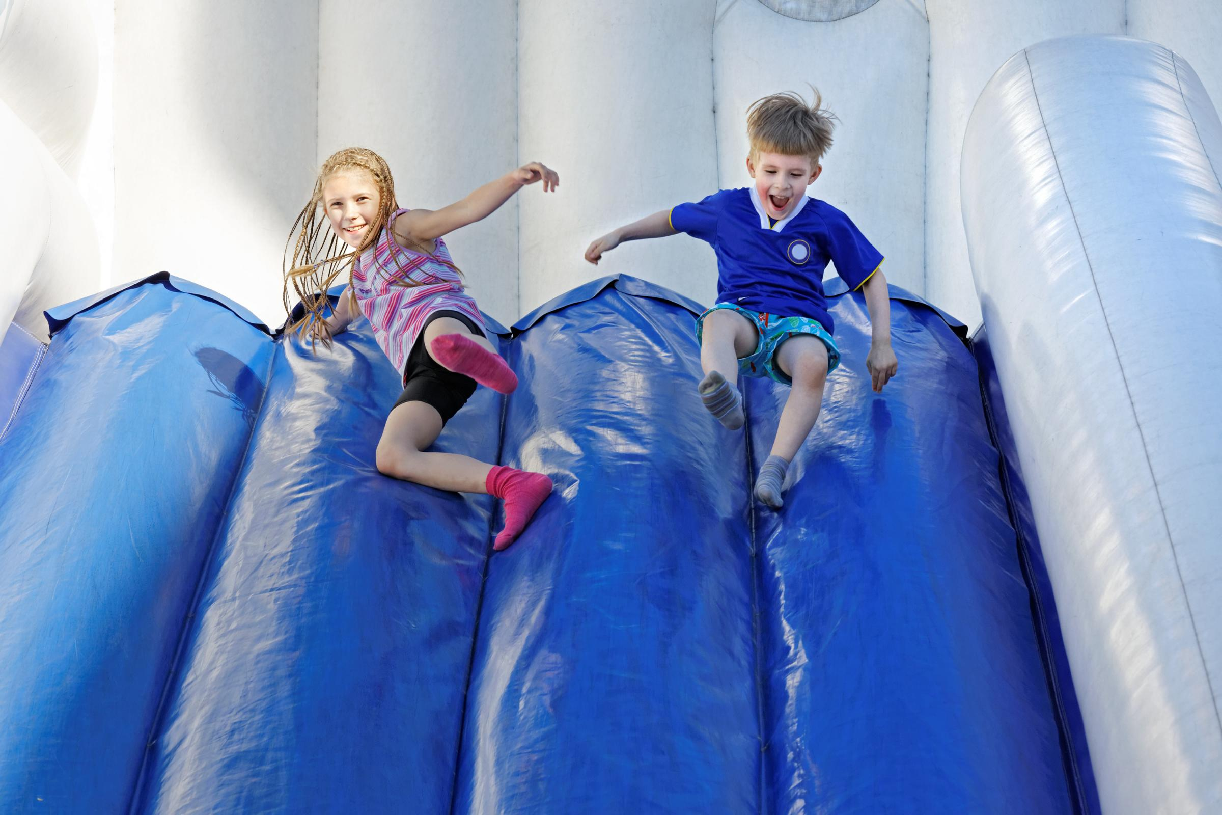 Childrens Inflatable Play Park: October Half Term