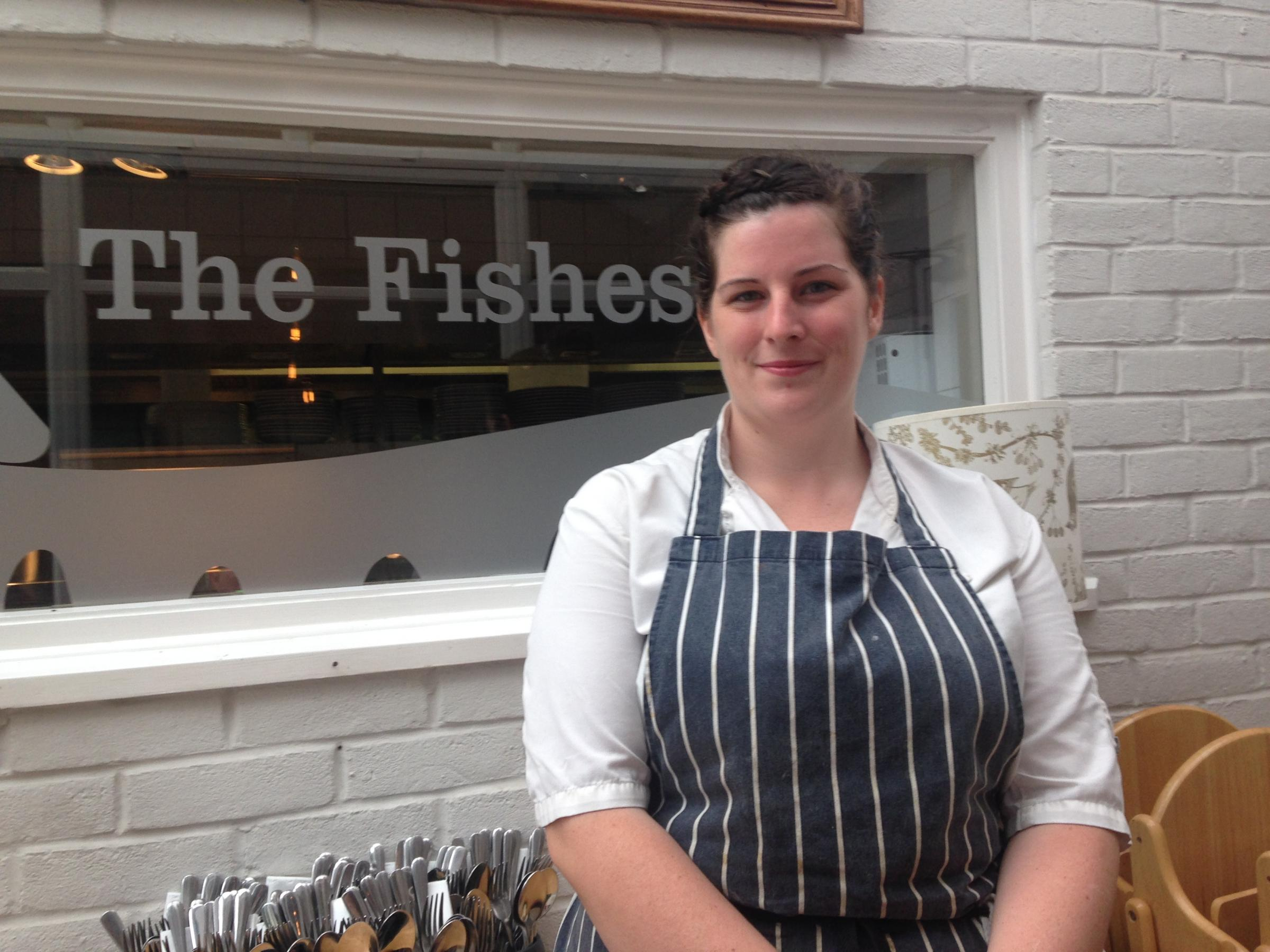 Grace Tessier, head chef at The Fishes