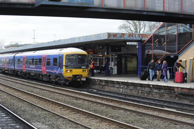 Oxford rail delays after train hits person on line