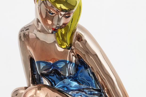 Jeff Koons, Seated Ballerina, 2010-2015, Gagosian