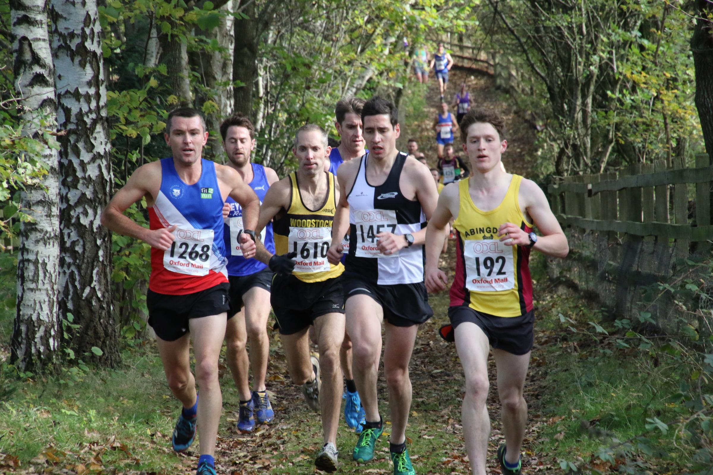 Runners during the first round of the Oxford Mail Cross Country League at Newbury last year Picture: Barry Cornelius