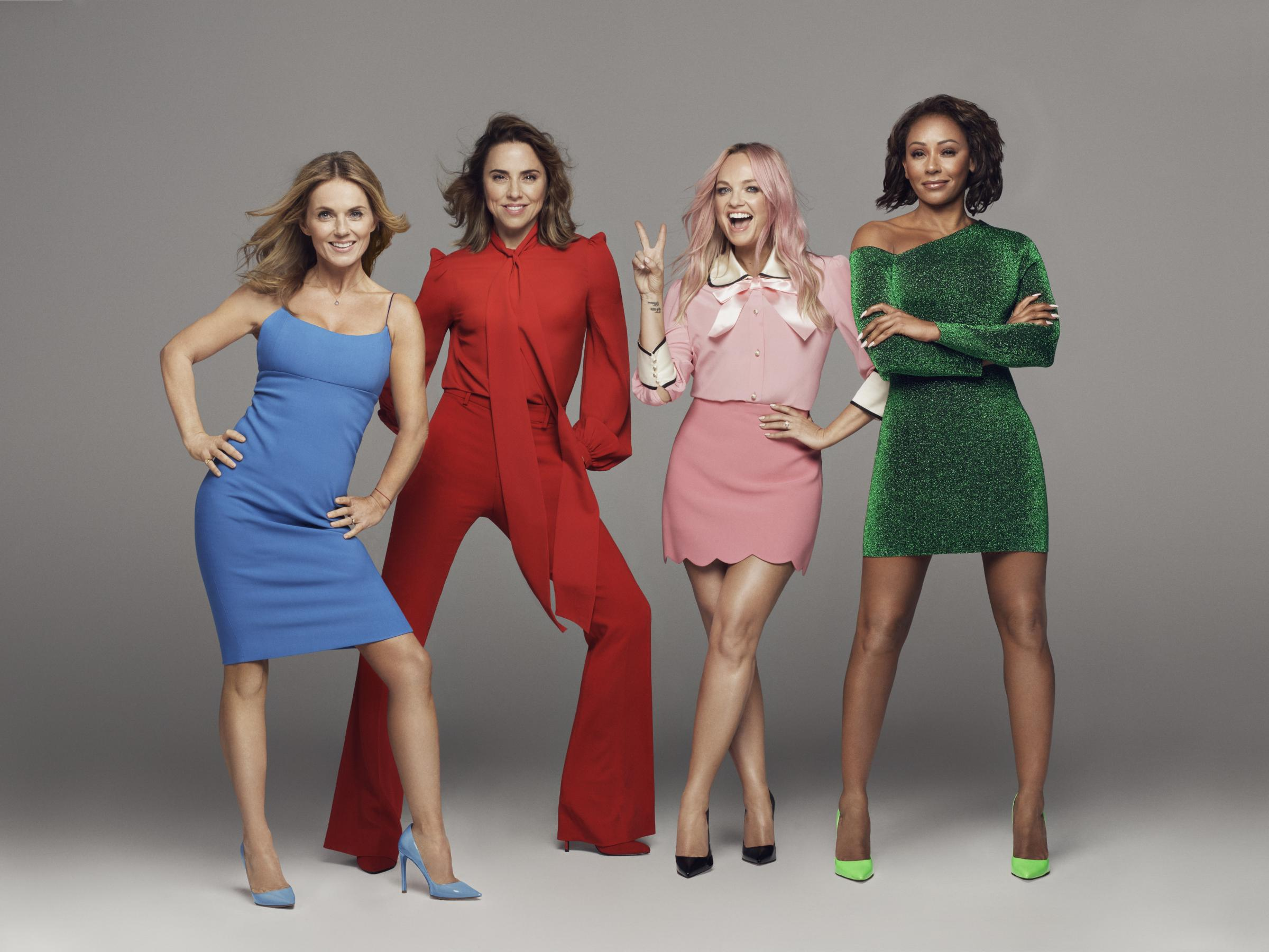 Could you be a dancer for the Spice Girls?