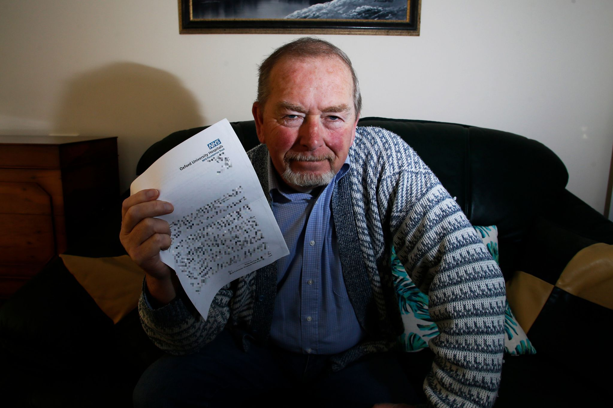 Pensioner told he 'had cancer' due to medical records
