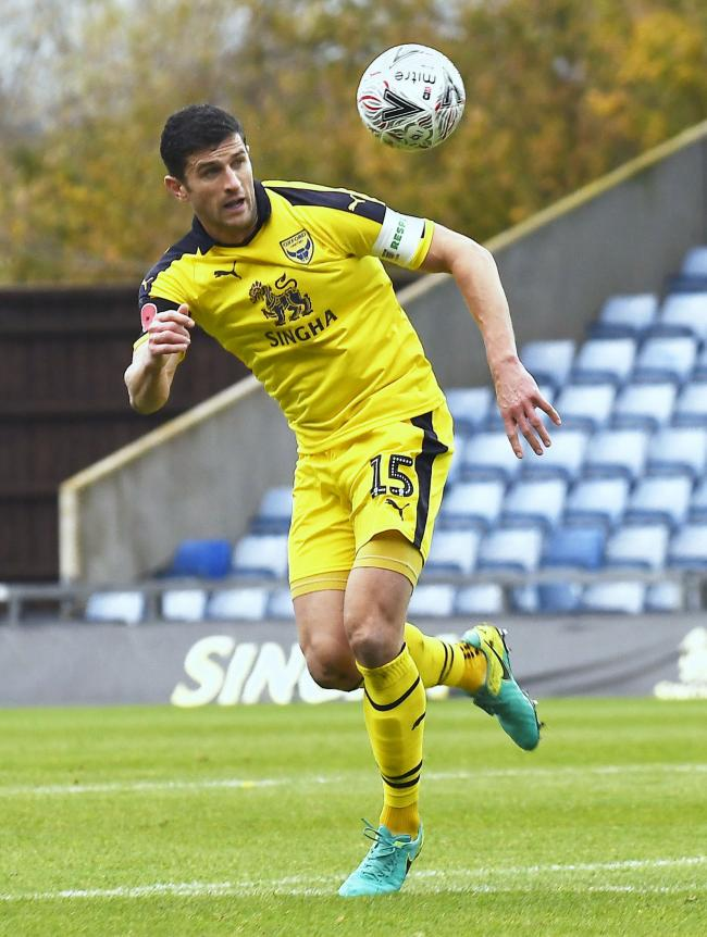 John Mousinho is set to make the 400th start of his career tomorrow          Picture: David Fleming