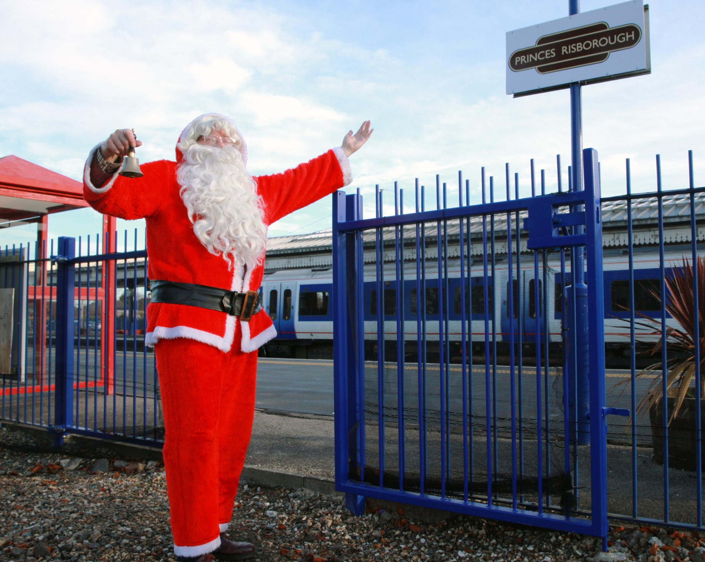 The Chinnor and Princes Risborough Railway have won an award and announced a special santa service