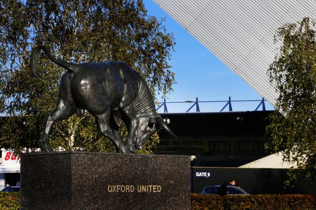 Police have warned Oxford United fans to hide valuables while parked at The Kassam Stadium Stock photo