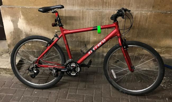 Is this your stolen bike? Police want to find its owner