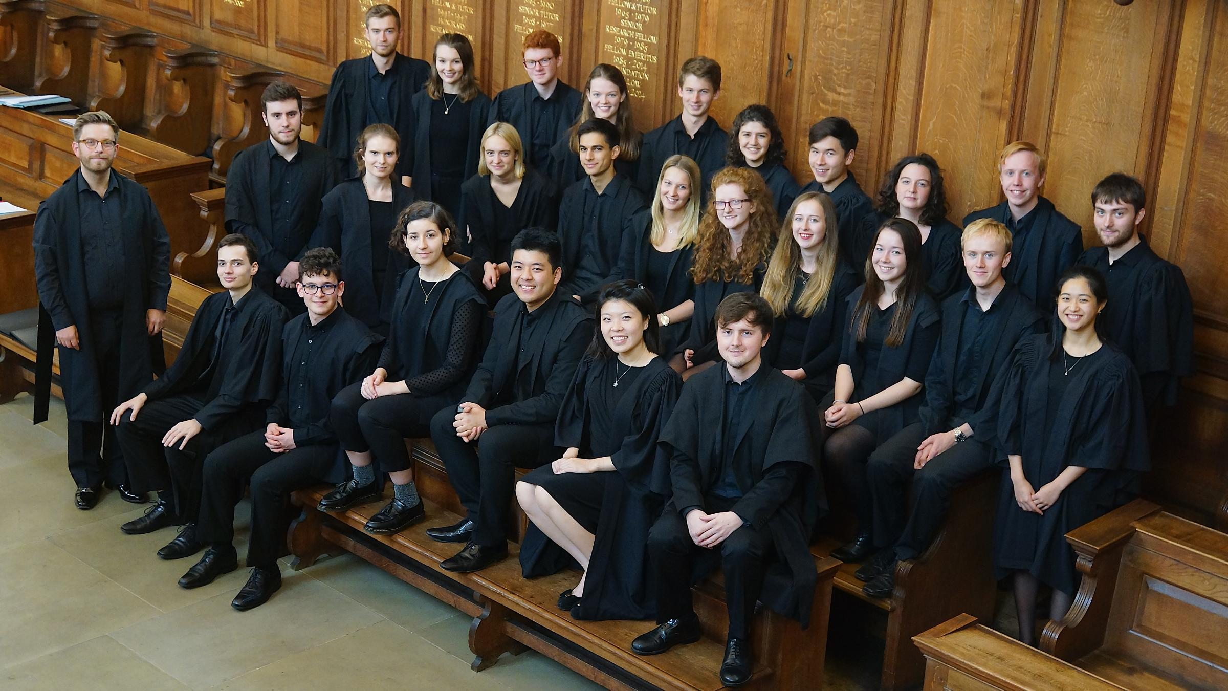 Somerville College Choir Set For First Tour Of India Oxford Mail