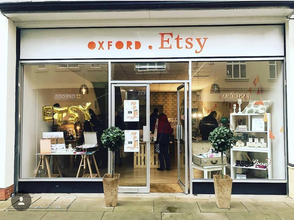 Oxford Etsy's Abingdon pop-up shop. Picture: Oxford Etsy