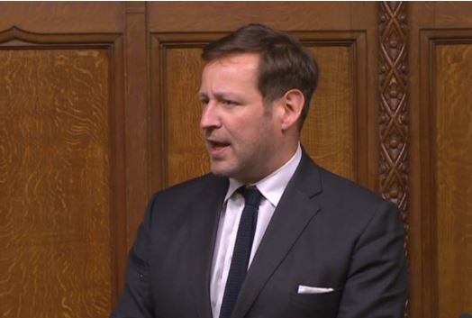 Ed Vaizey speaking during last night's Brexit deal debate Picture: House of Commons