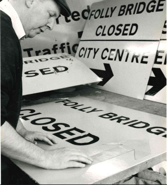 Remember When Ray Gough Road Sign manufacturer 1980