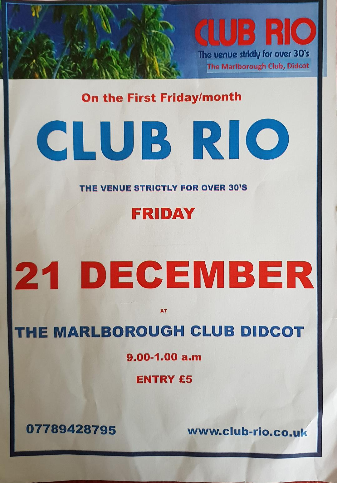 Club Rio Christmas Party
