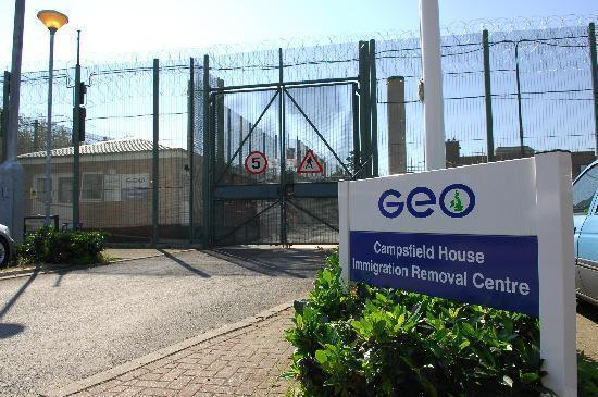 Campsfield House immigration removal centre in Kidlington