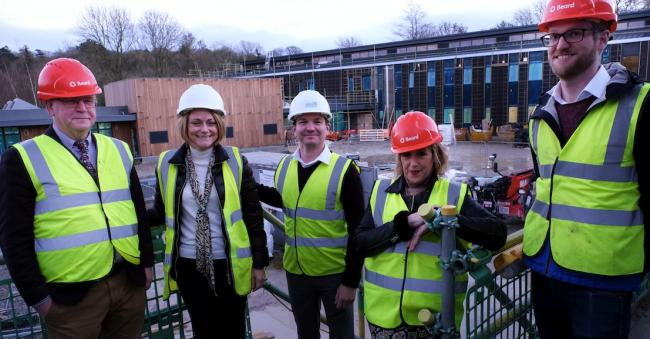 174a19245 Members of the Oxford Innovation team at the new Wood Centre for Innovation  in Headington Quarry