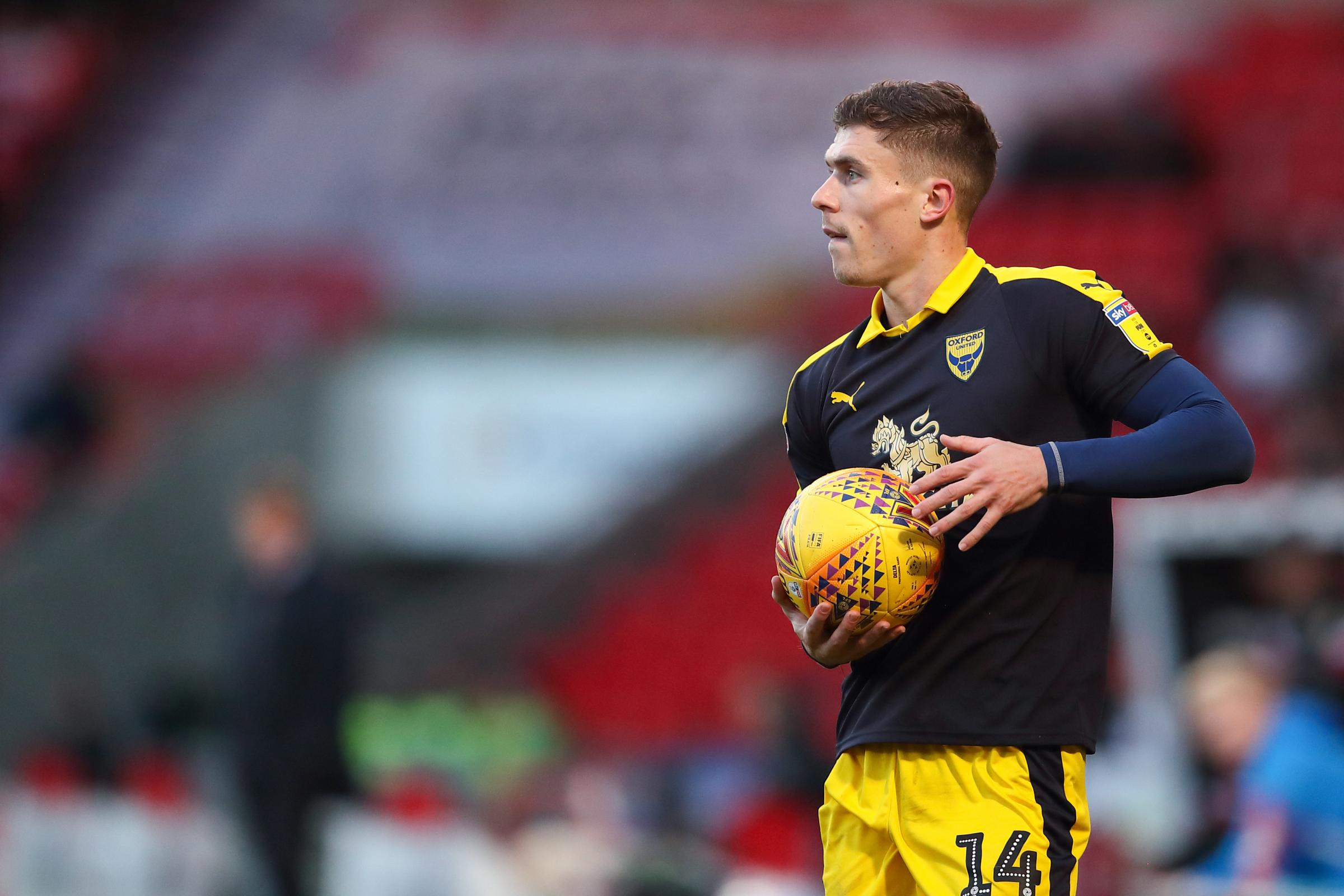 Doncaster Rovers v Oxford United, Keepmoat Stadium, 22nd December 2018 - Josh Ruffels of Oxford United.