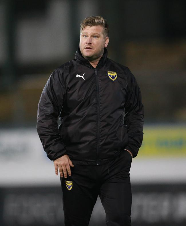 Karl Robinson knows reinforcements are needed up front for Oxford United   Picture: Dave Rowntree/PPAUK