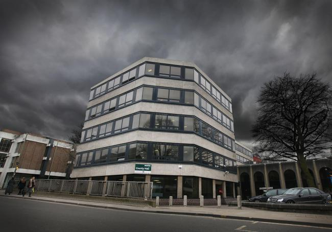 County Hall in Oxford, Oxfordshire County Council's headquarters