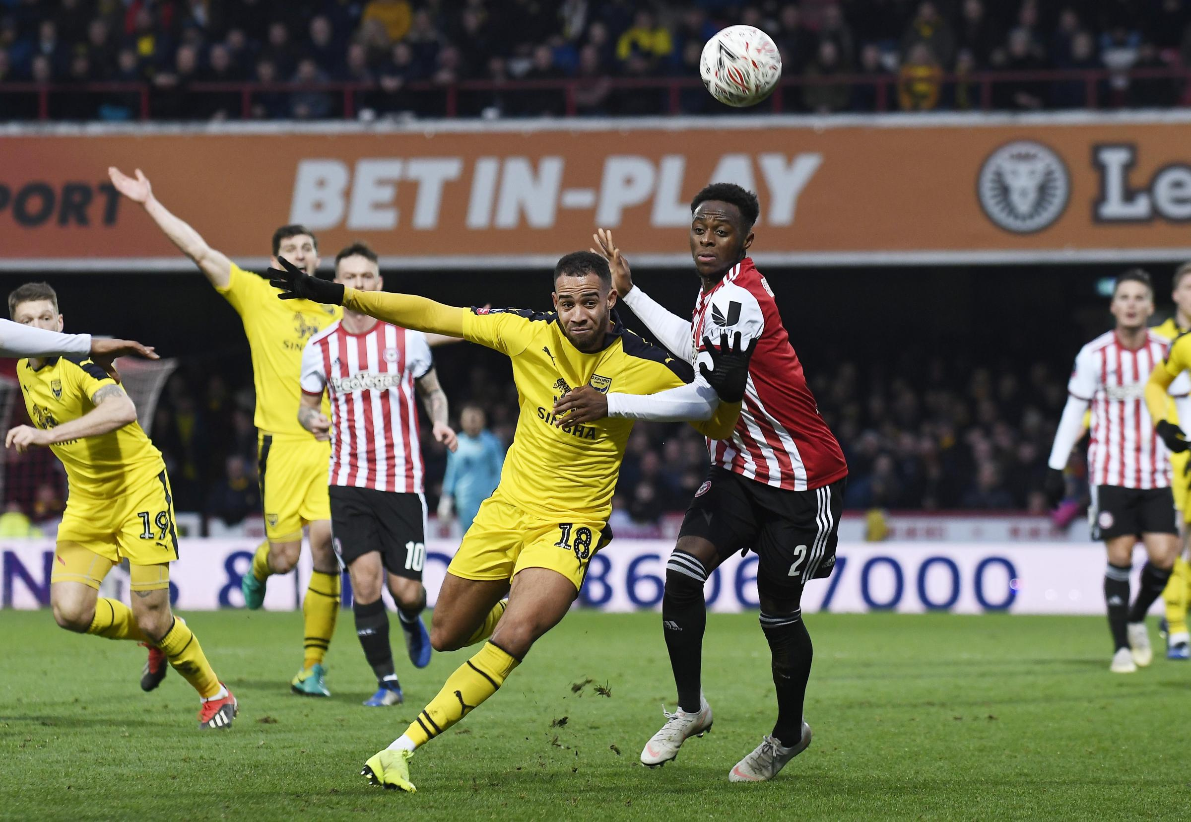 Jordan Graham began his second spell at Oxford United in the FA Cup against Brentford  Picture: David Fleming