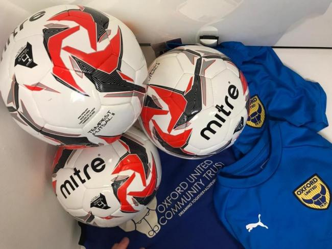 236f2430e63 Oxford United in the Community is launching futsal sessions Picture  OUITC