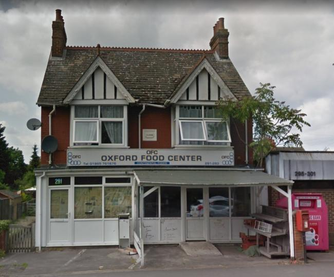 Oxford Food Center London Road in Headington Pic google maps