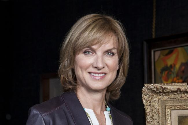 Fiona Bruce, who was announced as David Dimbleby's replacement in December when he stepped down