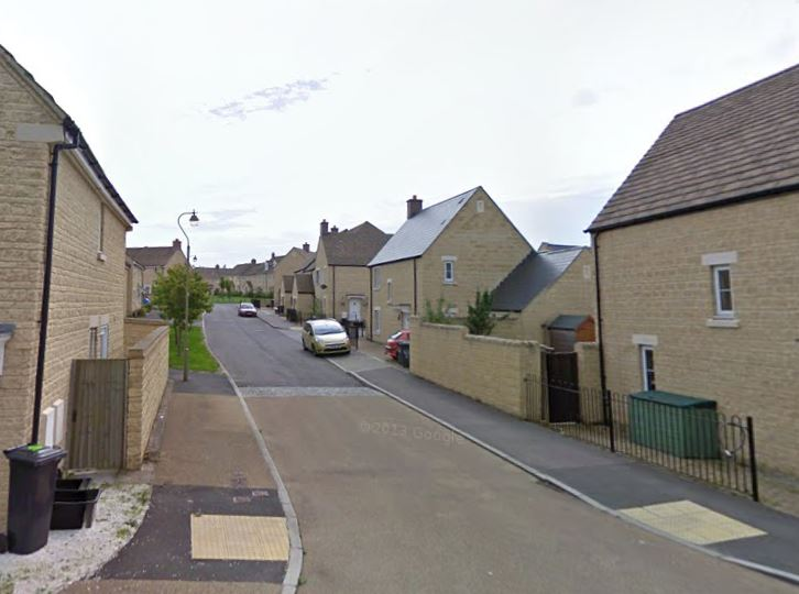 Fallowfield Crescent, Witney Pic: Google Maps
