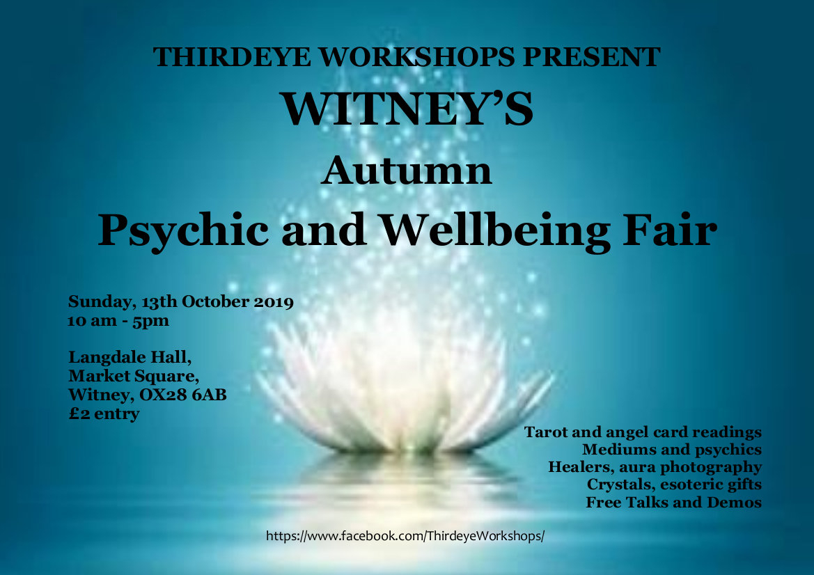 Witney's Autumn Psychic & Wellbeing Fair