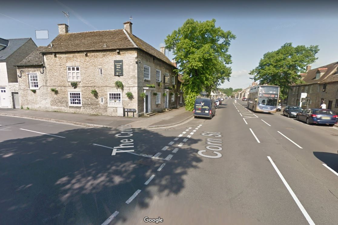 Corn Street at the junction of The Crofts, Witney Pic: Google Maps