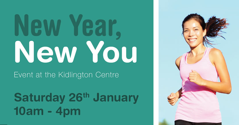 New Year, New You: Wellness Event at The Kidlington Centre