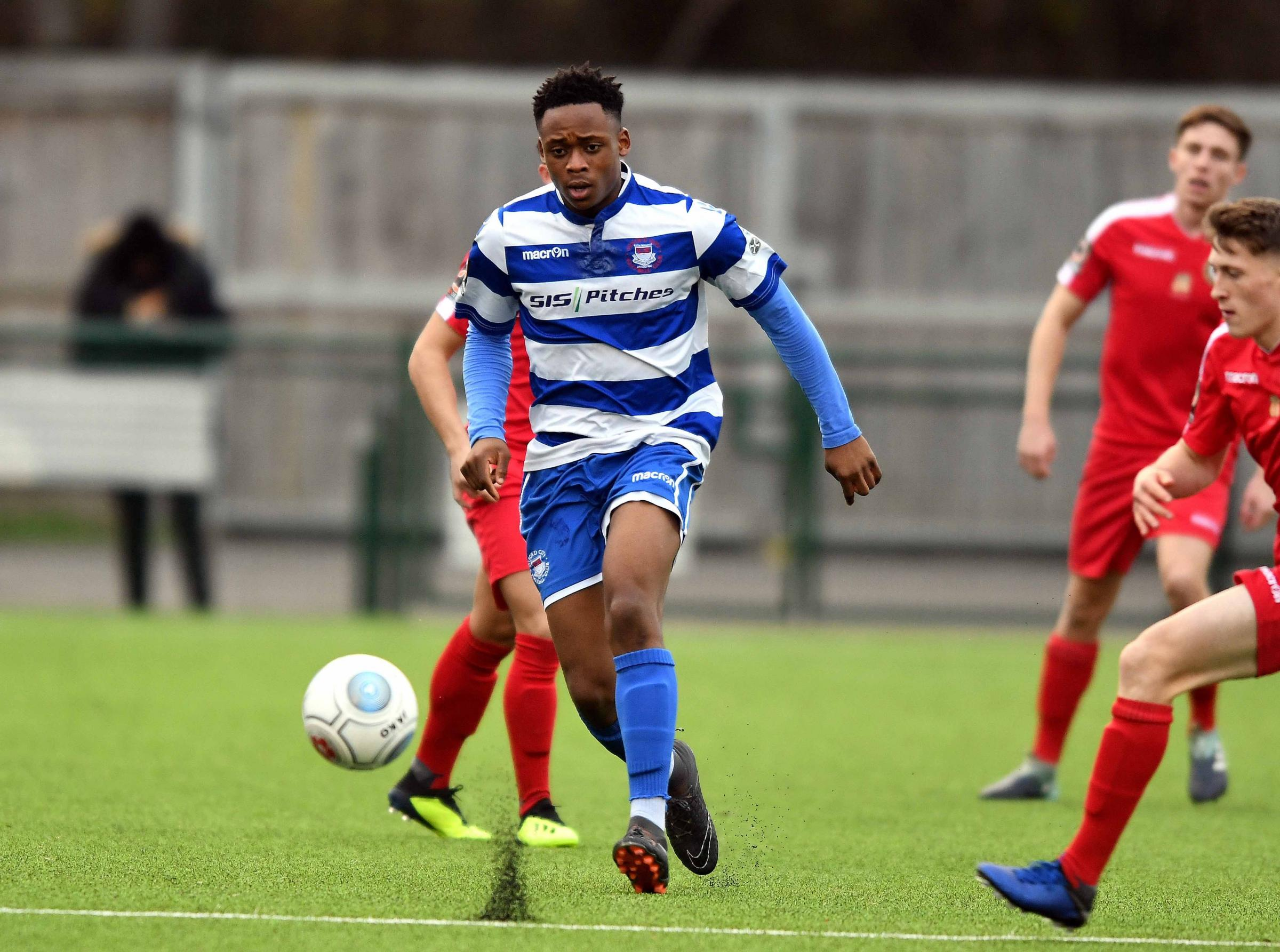 Udoka Godwin-Malife has left Oxford City for Forest Green Rovers