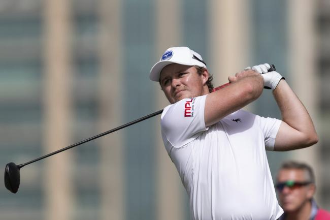 Eddie Pepperell made a big leap up the standings on day two of the Omega Dubai Desert Classic  Picture: AP Photo/Neville Hopwood