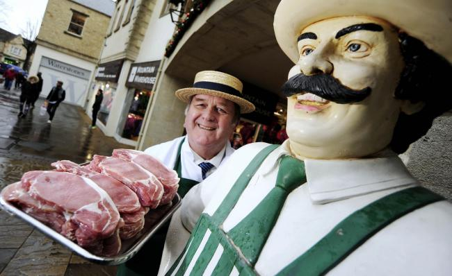 Donald Baker of Bakers Butchers in Witney, pictured in 2015 Picture: David Fleming