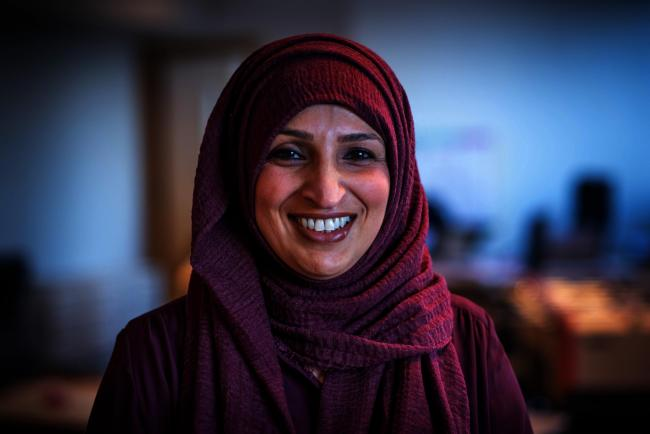 Oxford teacher Ms Sabir was recognised in the new year's honours list for helping the homeless and young people. Picture: Richard Cave