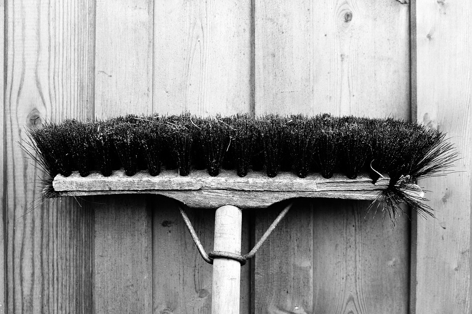 File pic of a broom