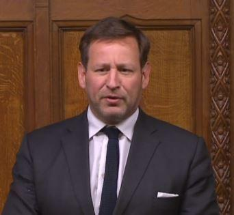 Ed Vaizey during a Brexit debate in the House of Commons. Picture: Parliament.uk