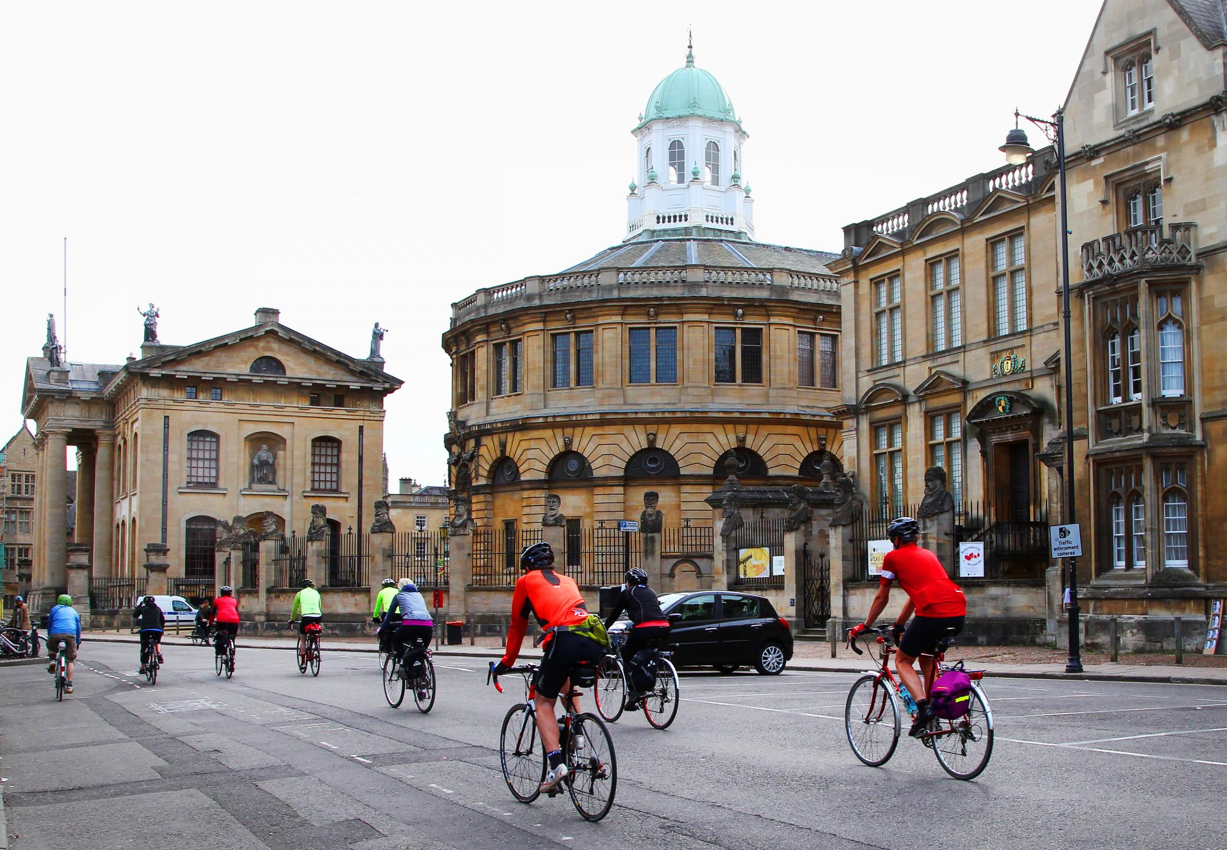 File photo of cyclists in Oxford. Picture: Andy Fitzpatrick